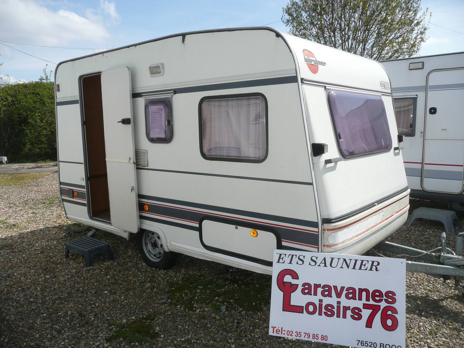 en vente caravane burstner club 355 rouen boos 76 camping car mobilhome rouen normandie. Black Bedroom Furniture Sets. Home Design Ideas