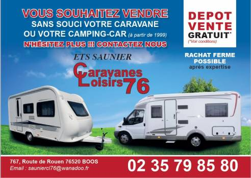 vente camping car caravane mobil home boos rouen caravanes loisirs 76. Black Bedroom Furniture Sets. Home Design Ideas